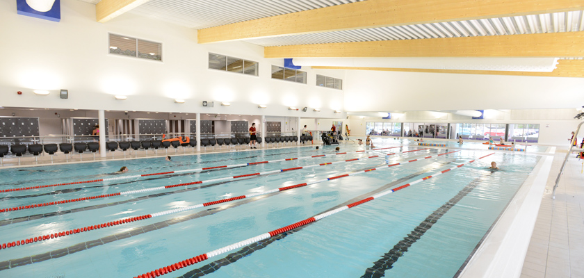 Newark sports and fitness centre active4today for Sport pools pictures
