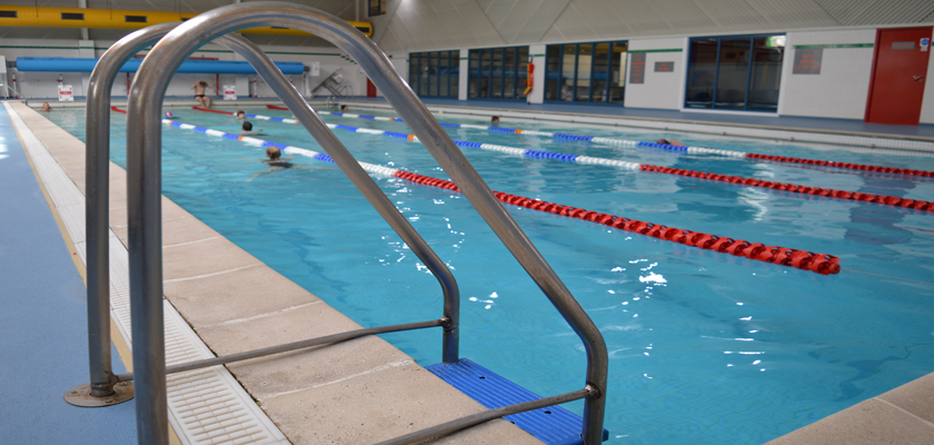 Swimming at Southwell Leisure Centre